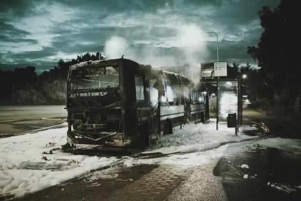 burned-bus